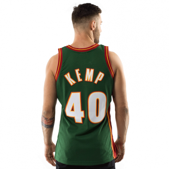 Shawn Kemp SuperSonics Seattle 40