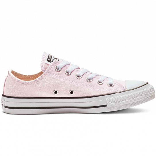 Chaussures Baskets Femmes Converse Chuck Taylor Basse Rose 163358C