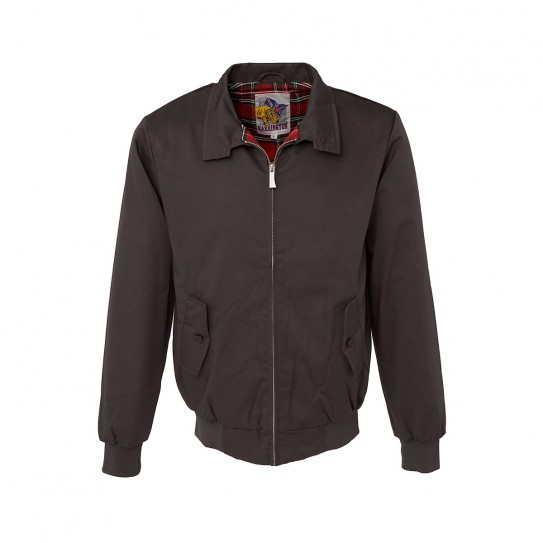 Blouson basic Harrington gris anthracite