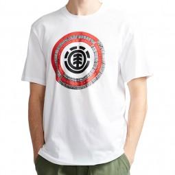 T-shirt Element Iris Optic White
