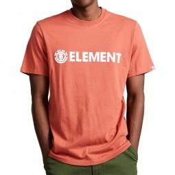T-shirt Element Blazin Etruscan Red