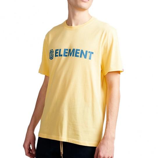 T-Shirt Element Blazin Jaune Popcorn Homme