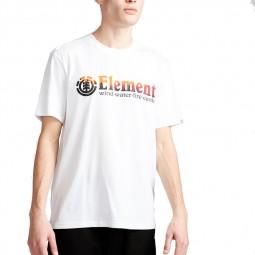T-shirt Element Glimpse Optic White