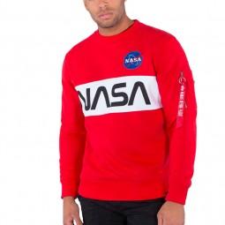 Sweat Alpha Industries NASA Inlay Sweater