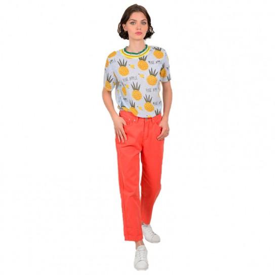 Top Lili Sidonio motif Ananas