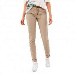 Pantalon chino Salsa Beige