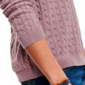 Pull en maille Only & Sons Alex Cable Rose Taupe