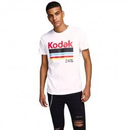 T-shirt Jack & Jones Kodak White