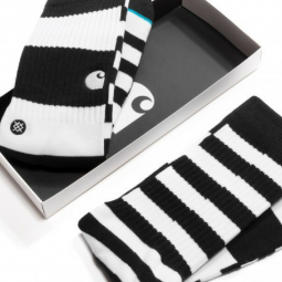 Carhartt X Stance chaussettes stripe black&white