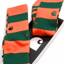 Carhartt X Stance chaussettes stripe clivia dragon