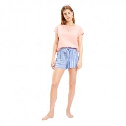 T-shirt Tommy Hilfiger rose pale