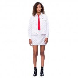 Jupe Calvin Klein WHITE/ RED MONOGRAM