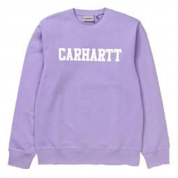 Sweat Carhartt College Soft Lavender