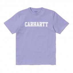 T-shirt Carhartt College Soft Lavender