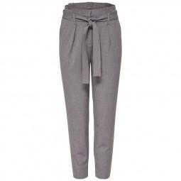 Pantalon Nicole Only Light Grey