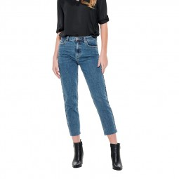 Jeans Only taille haute emily raw ankle
