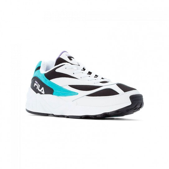 Chaussures Fila V94M Low BLACK/CURACAO/VIOLET