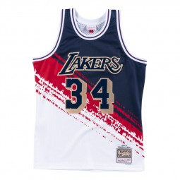 Shaquille O'Neal Lakers Los Angeles 34 Independence