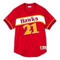 Dominique Wilkins Altlanta Hawks 21 rouge