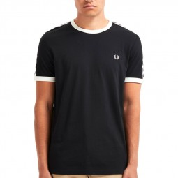 T-Shirt Fred Perry noir 439