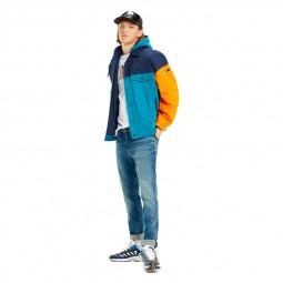 Veste à capuche Tommy Hilfiger colour block
