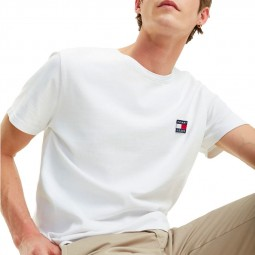 T-shirt Tommy Hilfiger 6595 blanc
