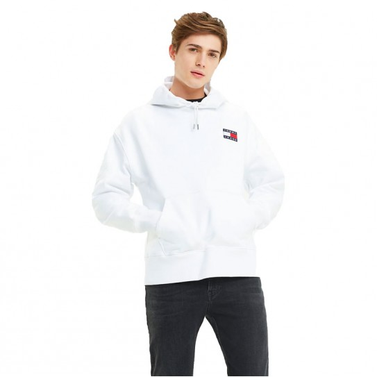 grand choix de ef73c 18e09 Sweat à capuche Tommy Hilfiger homme blanc 6593 | Fred Aston