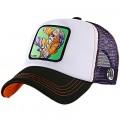 """Casquette Capslab Dragon Ball Z """"Kame"""" noir, blanc, violet"""