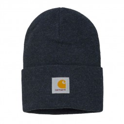Bonnet Carhartt Acryclic Watch Hat bleu marine
