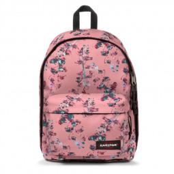Sac à Dos Eastpak Out of Office Romantic Pink rose à fleurs