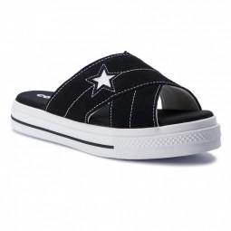 Sandales Converse One Star Sandal Slip noires