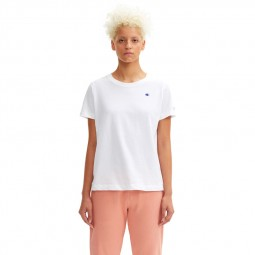T-shirt Champion petit logo blanc