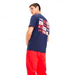 T-shirt Tommy Hilfiger 6671 002 bleu marine