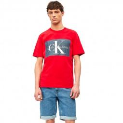 T-shirt Calvin Klein rouge