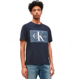 T-shirt Calvin Klein bleu marine