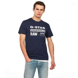 T-Shirt G-Star bleu marine