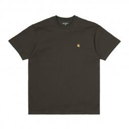 T-shirt Carhartt Chase Cypress vert kaki foncé