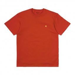 T-shirt Carhartt Chase Brick orange