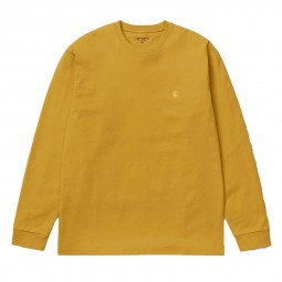 T-shirt manches longues Carhartt Chase jaune