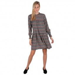 Robe large graphique Molly Bracken multicolore