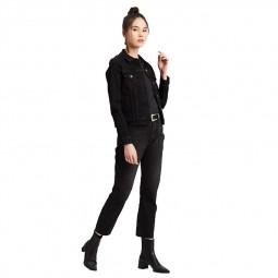 Jean Levi's 501 Crop Jeans black heart noir
