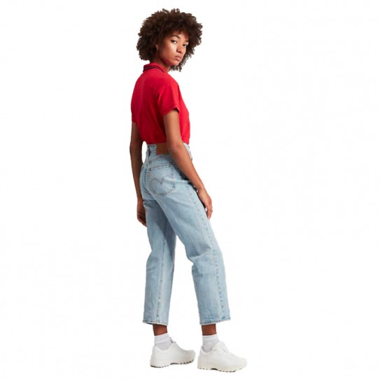 Jean's Levi's® Ribcage Straight Ankle
