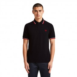 Polo Fred Perry M12 noir
