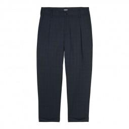 Pantalon Carhartt Taylor Pant bleu écossais