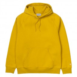 Sweat à capuche Carhartt Hooded Chase colza jaune
