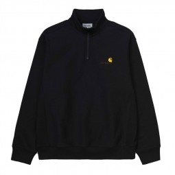 Sweat demi zip Carhartt noir