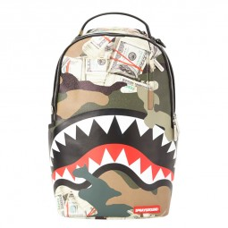 Sac à dos Sprayground Camo Money Shark camouflage