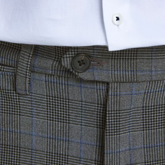 Pantalon chino à carreaux Jack & Jones
