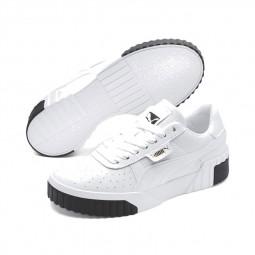 Chaussures Puma Cali blanc et noir