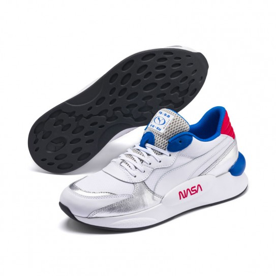 chaussures puma homme blanches